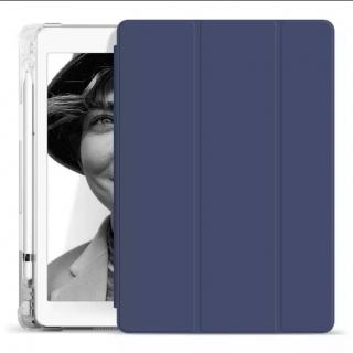 Чехол для iPad 12.9 2020 под Apple Pencil с прозрачной крышкой