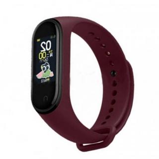 Бордовый фитнес-браслет Xiaomi Mi Band 4.