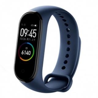 Синий фитнес-браслет Xiaomi Mi Band 4.