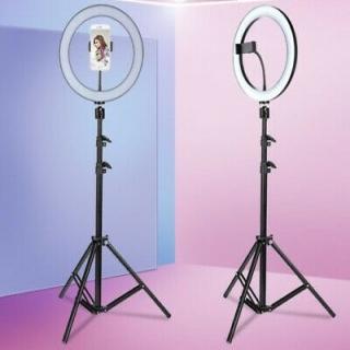 Кольцевая лампа 30 см. со штативом 190 см.