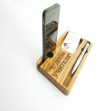 Деревянный чехол для iPhone Xr органайзер.