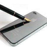 Зеркальная пленка для iPhone 4 / 4s