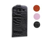 Чехол для Galaxy S3 из кожи Crocodile