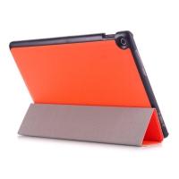 """Кожаный Smart Case для Asus ZenPad Z300CL с режимом """"Smart"""""""