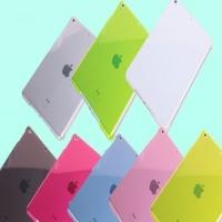 Пластиковая задняя крышка для iPad Air цвета на выбор