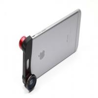 "Объектив 3 в 1 OlloClip для Apple iPhone 6/6S в виде ""шапки"""