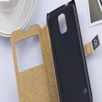Чехол книжка с окошком для Galaxy s5 (i9600)