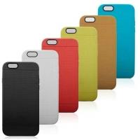 """Силиконовый бампер с """"перфорацией"""" для Apple iPhone 6 4.7"""