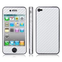 Карбоновая наклейка для iPhone 4 / 4S
