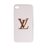 """Кожаный чехол """"Louis Vuitton"""" для iPhone 4 / 4S"""