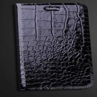 """Кожаный чехол книжка """"Крокодил"""" для iPhone 6 Plus (5.5)"""