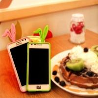 Заглушка Ушки для iPhone 4 / 4S, iPhone 5, Samsung Galaxy