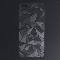 3D наклейка QIND треугольник для iPhone 4 / 4S