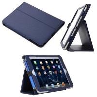 Чехол книжка из кожи для Apple iPad Mini 1/2/3