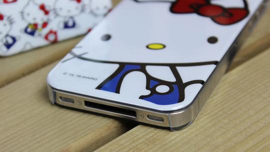 Чехол накладка hello kitty для iphone 4 4s на