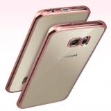 """Чехол """"с хромированной вставкой"""" для Samsung Galaxy S8 Plus"""