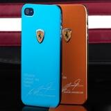 Чехол накладка Ferrari для iPhone 4 / 4S