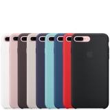 """Кожаный чехол с """"гравировкой яблока"""" для Apple iPhone 7"""