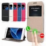 """Чехол """"Smart"""" Flip Cover с активным окном для Galaxy A3 2017г"""