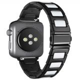 Керамический браслет с вставками для Apple Watch 42mm 1/2/3