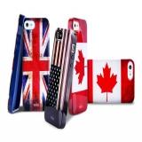 Накладка чехол Канадский флаг для Apple iPhone 5