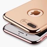 Чехол - накладка для Apple iPhone 7 Plus (с хромированными вставками)