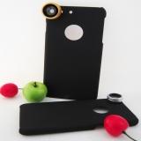 Комплект линз 3 в 1 + чехол для iPhone 7/8 Plus (5.5)