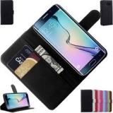 Чехол - книжка из гладкой кожи для Samsung Galaxy S6 Edge ( SM-G925 )