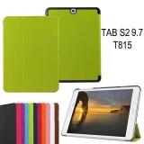 """Кожаный Smart Case для Samsung Tab S2 T815 с диагональю 9.7 (""""sleep / wake"""")"""