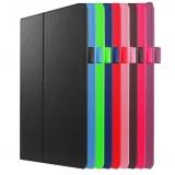 Чехол книжка из кожи (PU) для Lenovo Tab 2 A10-30 (X30F)