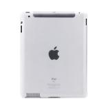 Пластиковая прозр. задняя крышка для iPad 2 / 3 / 4