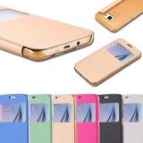 """Flip Case для Samsung Galaxy S6 G920 чехол """" с окошком """""""
