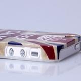 Накладка чехол Британский, Американский флаг для Apple iPhone 5/5S/SE