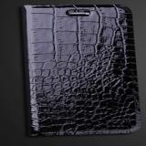 """Кожаный чехол книжка """"Крокодил"""" для iPhone 6 (4.7)"""