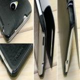 Кожаный чехол книжка для HTC ONE M7