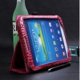 Чехол книжка под крокодила для Samsung Galaxy Tab 3 8.0 (T3100)
