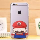 """Селиконовый чехол """"мультик Luffy"""" (губка Боб) для iPhone 5/5s"""