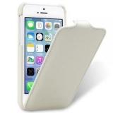 Раскладной чехол Melkco Leather Case для Apple iPhone 5/5S/SE (кожа)