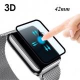 Фирменное 3D стекло для Apple Watch Series 3 / 2 / 1 42 mm