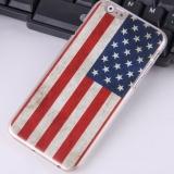 Чехол накладка Американский флаг для iPhone 6 Plus