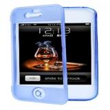 Двусторонний силиконовый case для Apple iPhone 5/5S