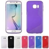 """Селиконовый чехол """" S """" для Samsung Galaxy S6 Edge с анти-скользящим покрытием"""