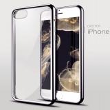 """TPU чехол для Apple iPhone 6 Plus """"с хромированными вставками"""" селиконовый"""