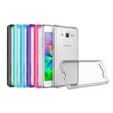Бампер с прозрачной крышкой для Galaxy S7