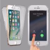 Силиконовый прозрачный 2 в 1 чехол для iPhone 7 / 8 (двусторонний)